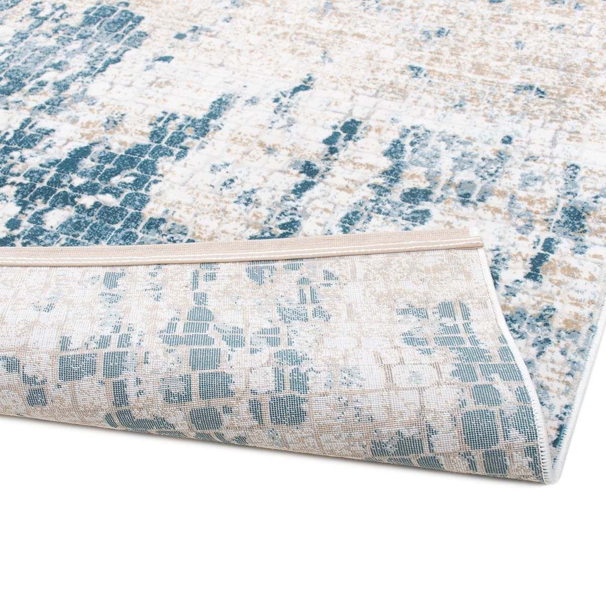 Madrid Rug 01 Blue 2