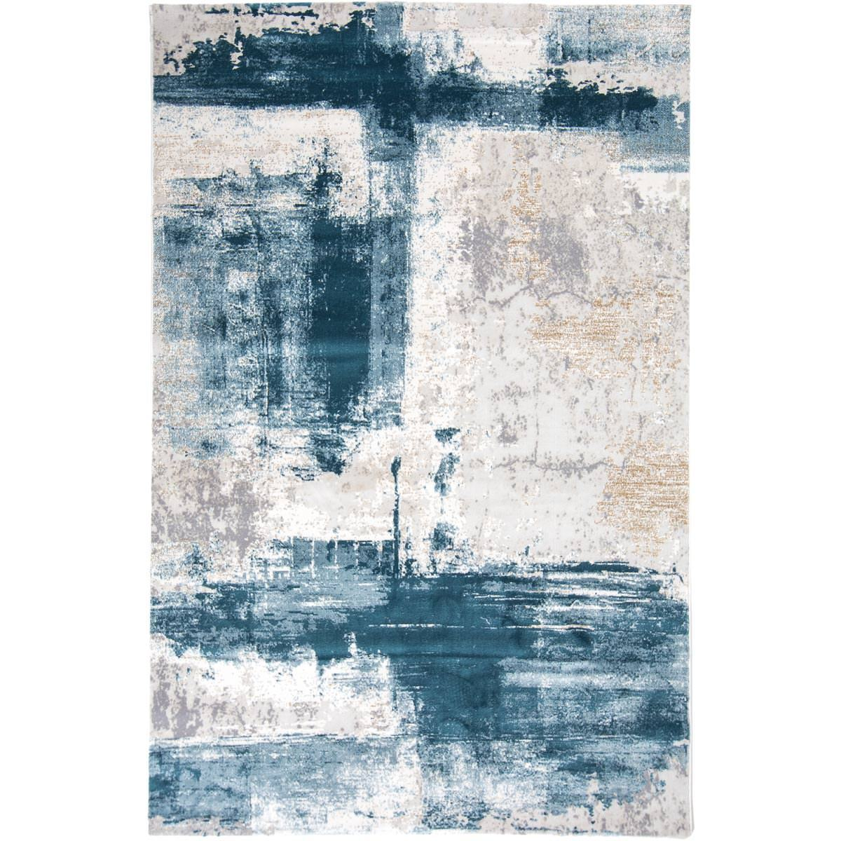 Madrid Rug 04 Blue 1