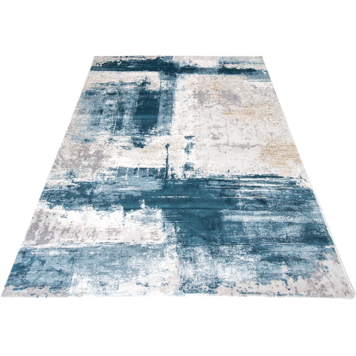 Madrid Rug 04 Blue 6