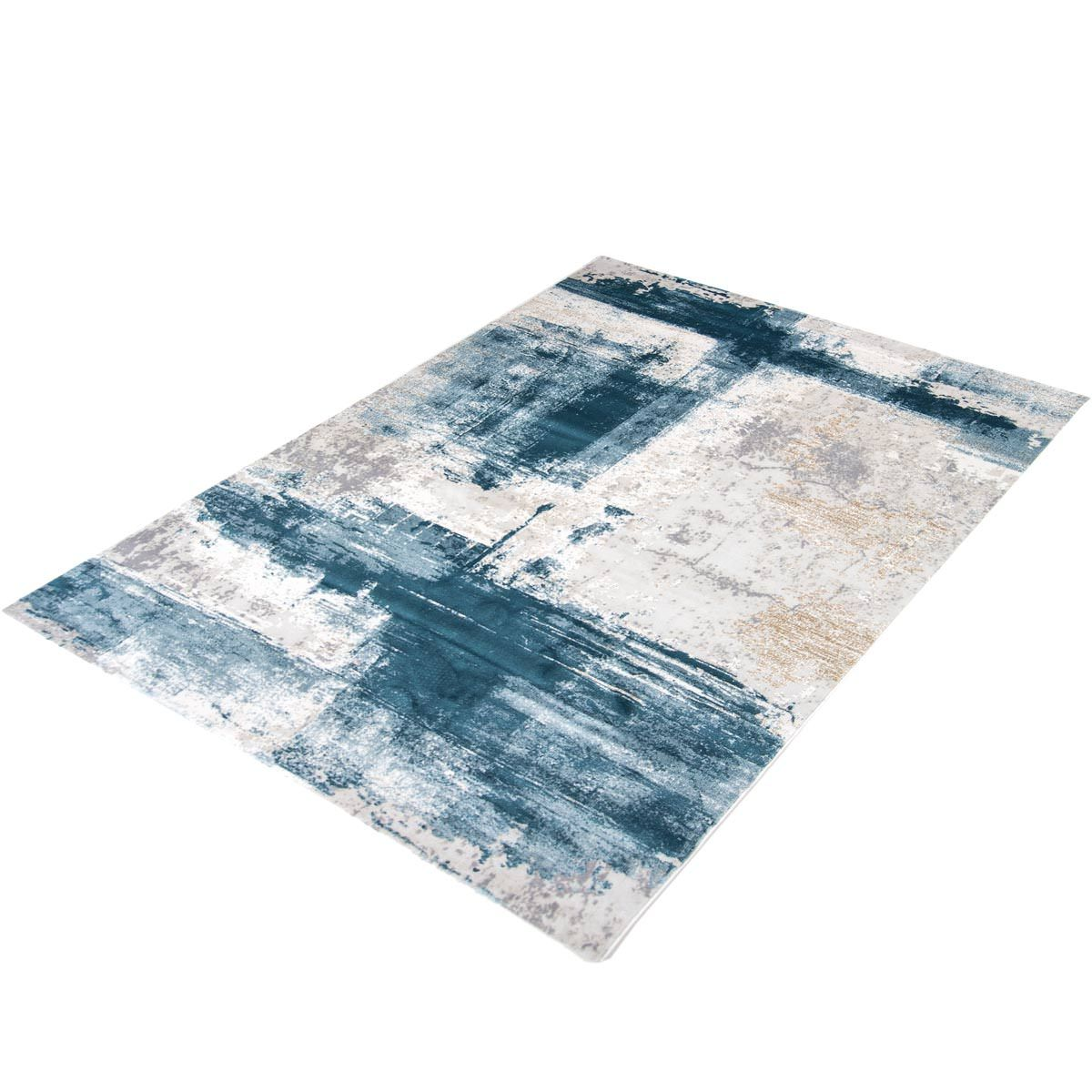 Madrid Rug 04 Blue 7