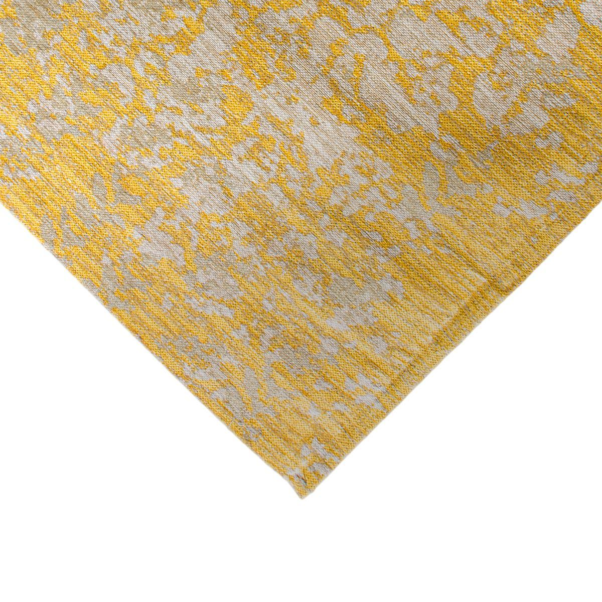 Marseille Rug 29 Yellow/Grey Runner 4
