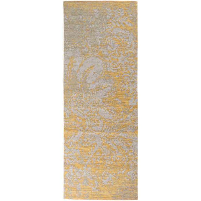 Marseille Rug 29 Yellow/Grey Runner