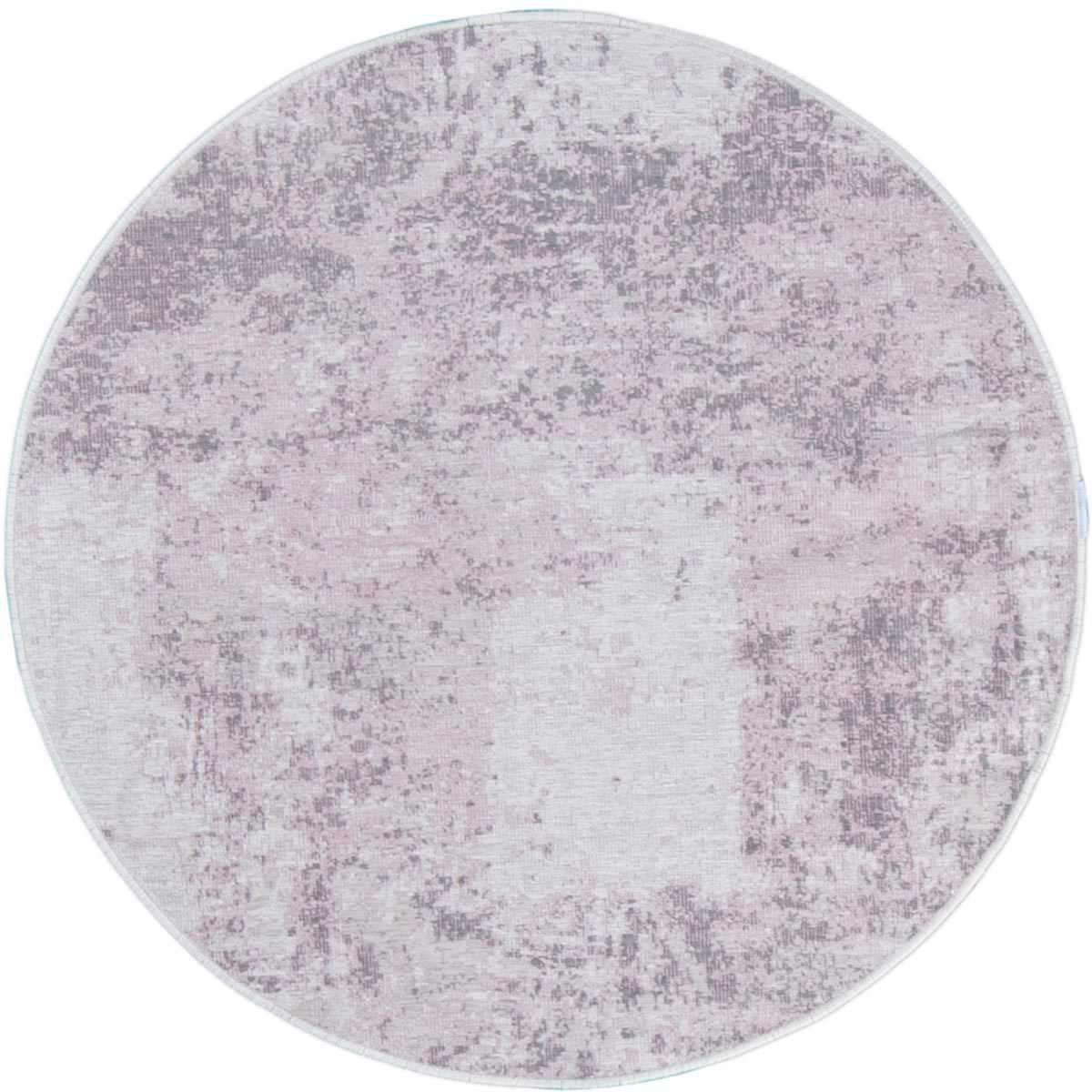 Marseille Rug 30 Purple Round 1