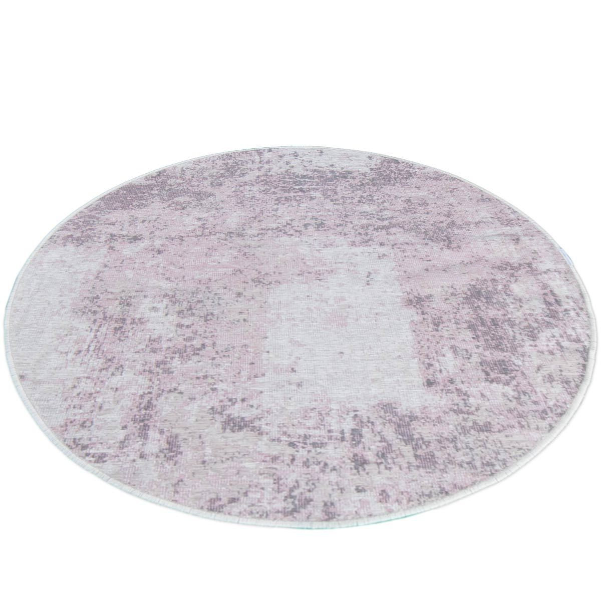 Marseille Rug 30 Purple Round 2