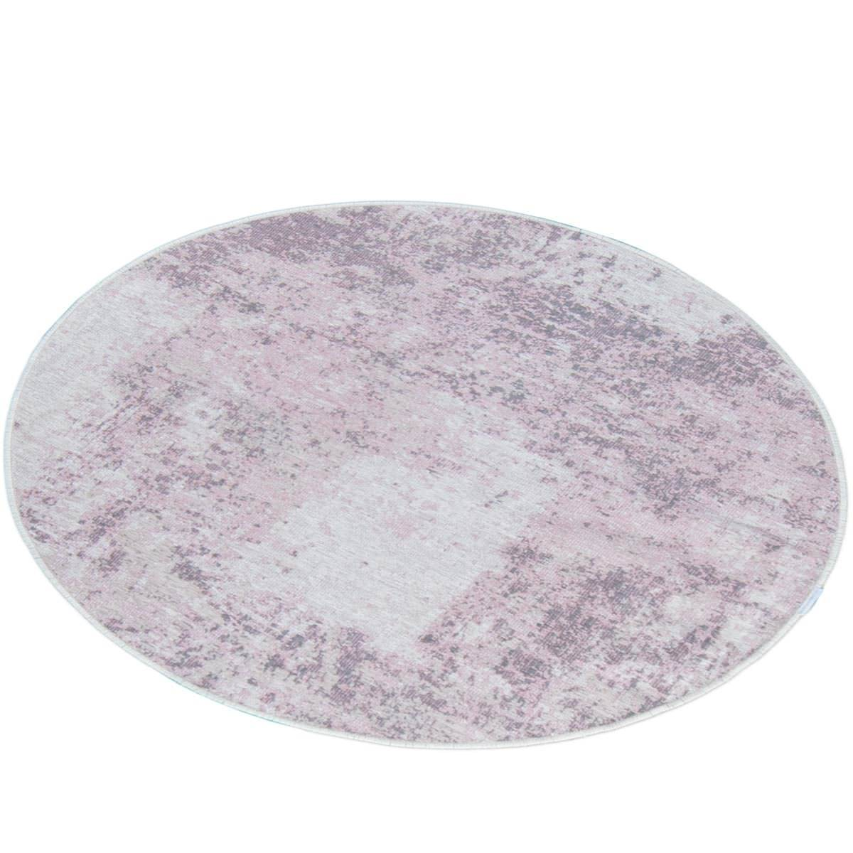 Marseille Rug 30 Purple Round 3