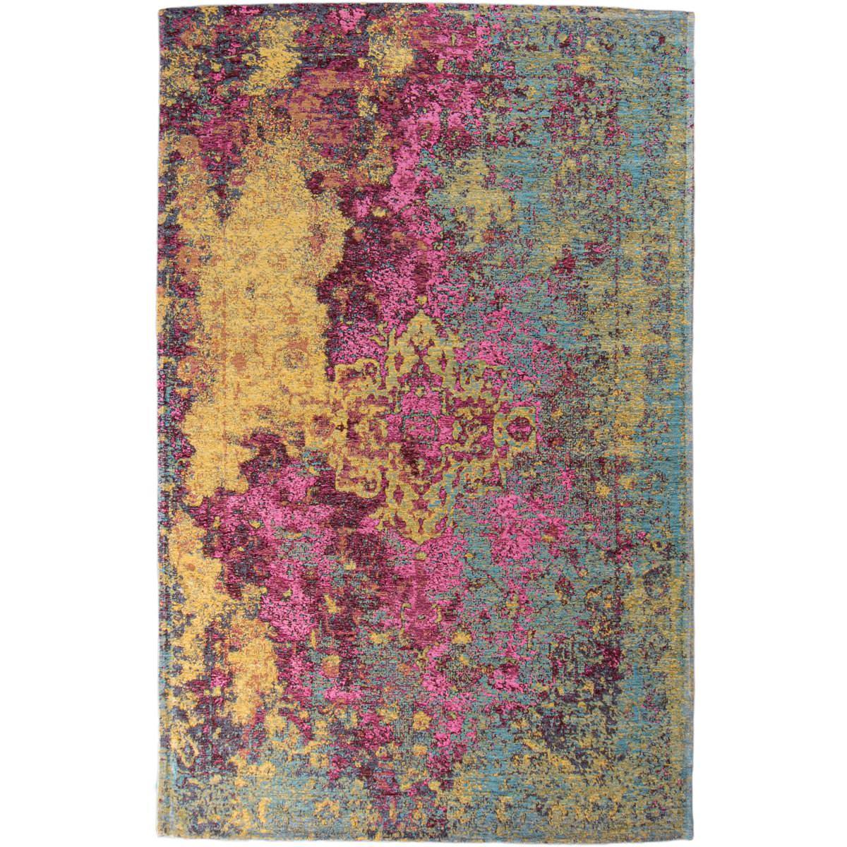 Marseille Rug 31 Yellow/Purple/Pink 1