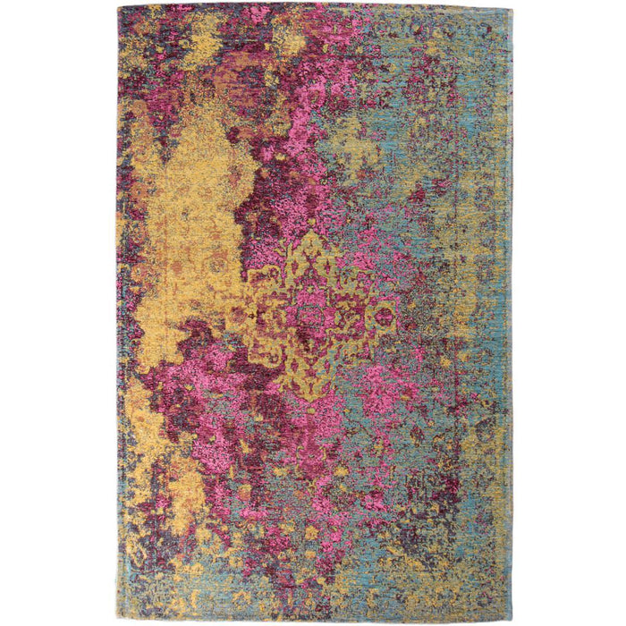Marseille Rug 31 Yellow/Purple/Pink