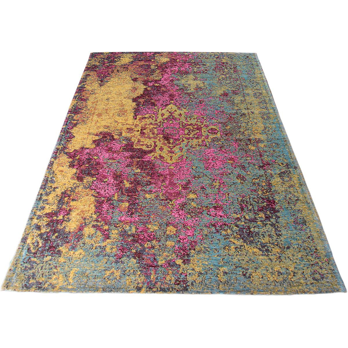 Marseille Rug 31 Yellow/Purple/Pink 2