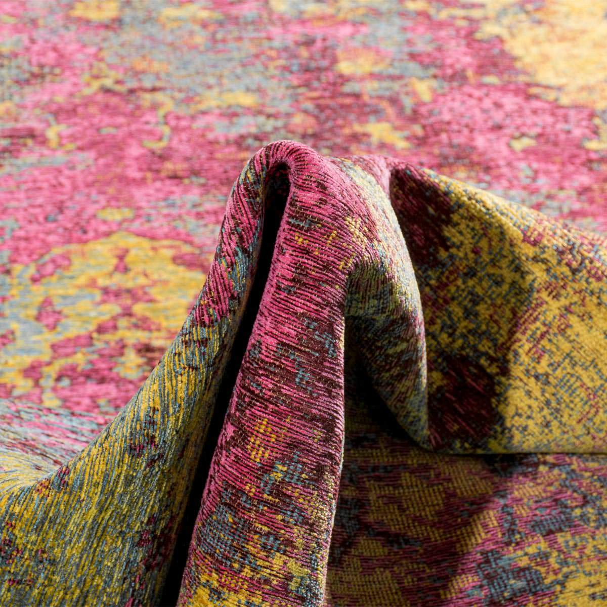 Marseille Rug 31 Yellow/Purple/Pink 4