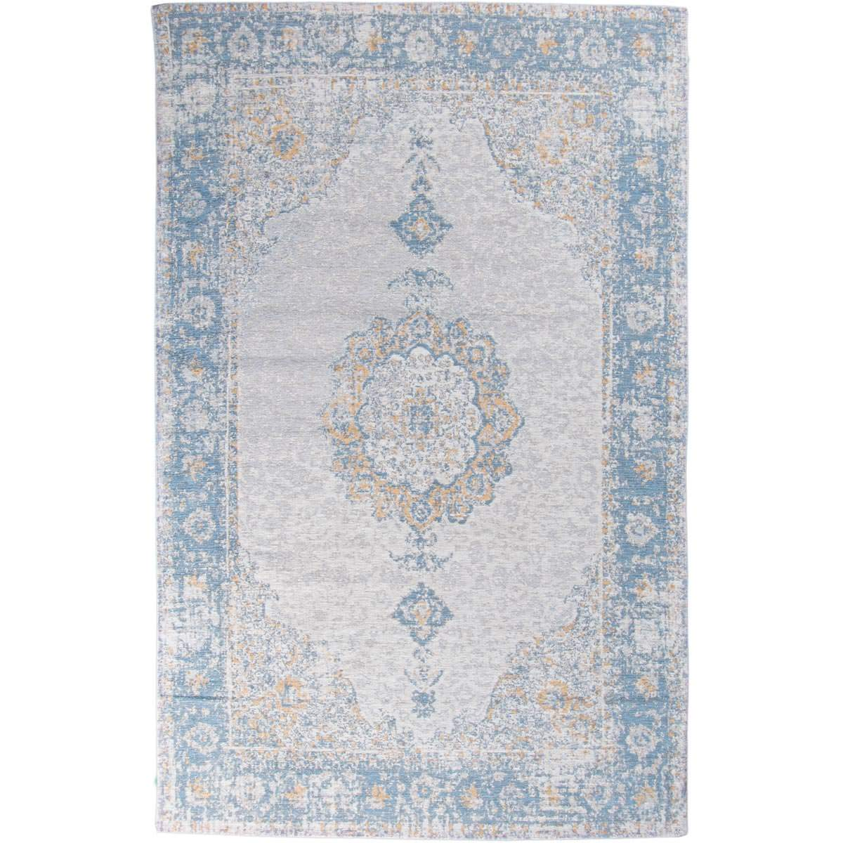 Marseille Rug 34 Blue/Beige/Yellow 1