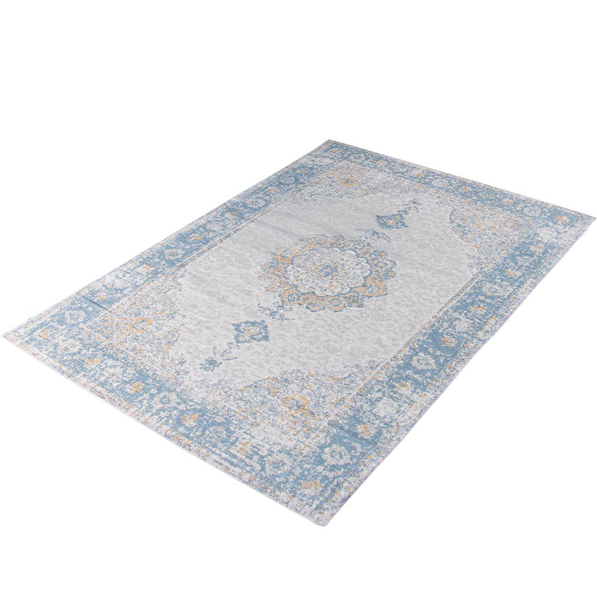 Marseille Rug 34 Blue/Beige/Yellow 3