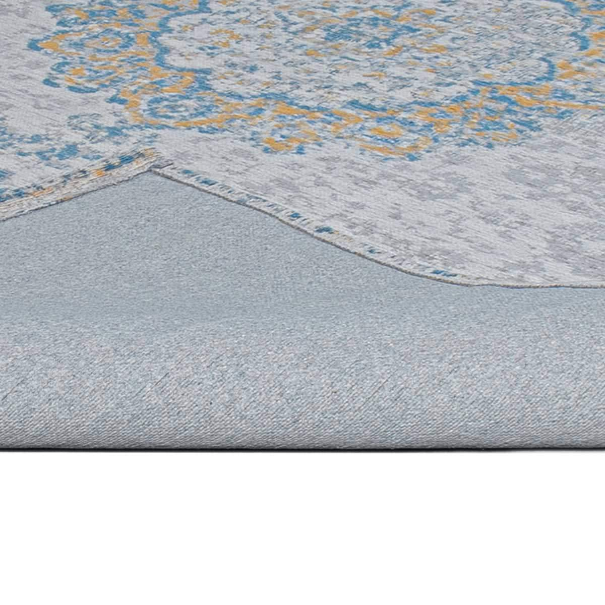 Marseille Rug 34 Blue/Beige/Yellow 5