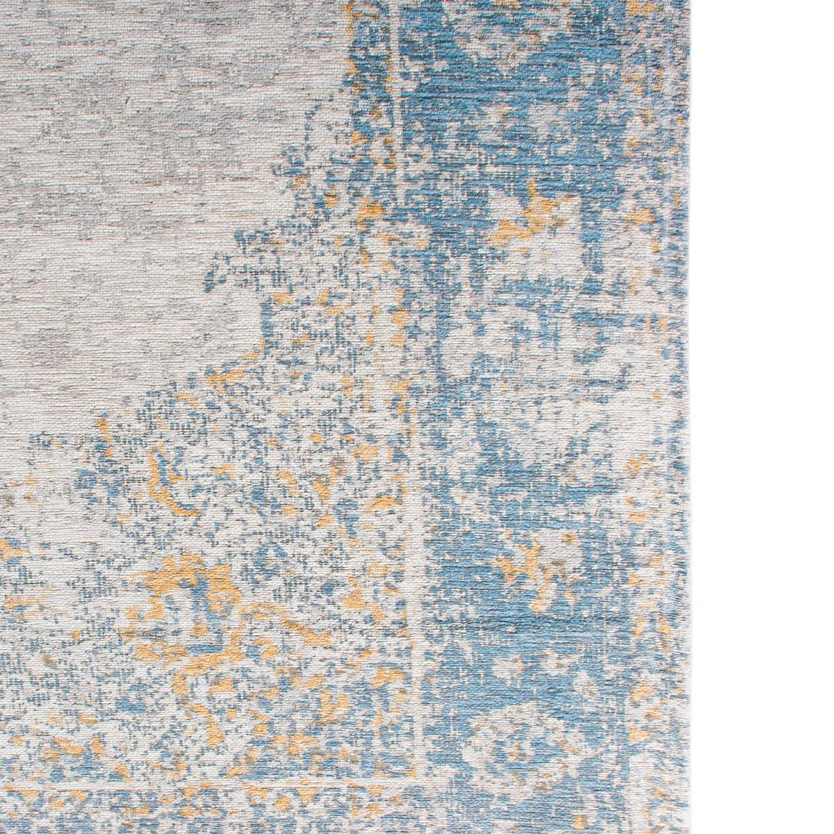 Marseille Rug 34 Blue/Beige/Yellow 7