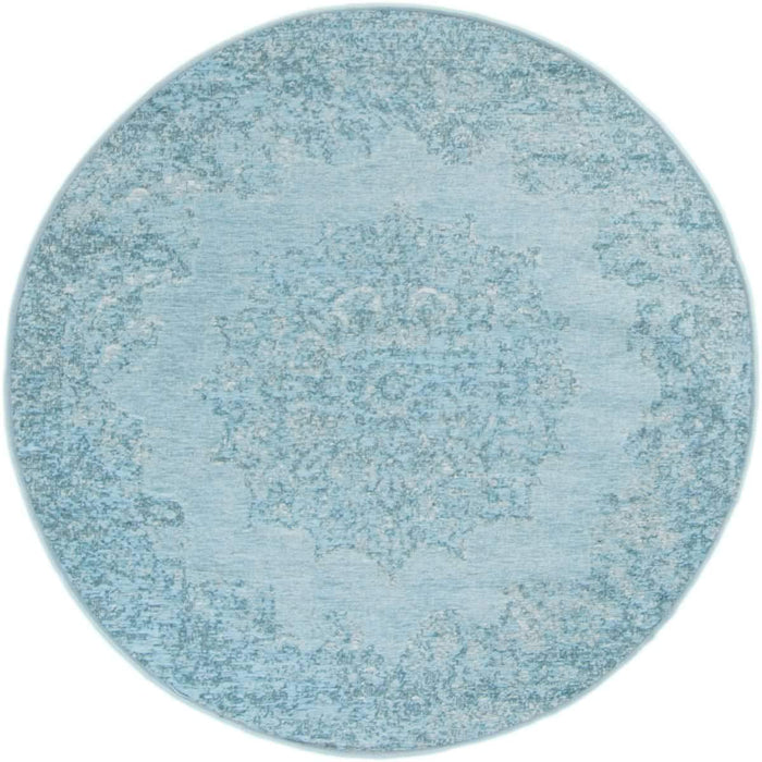 Marseille Rug 35 Light Blue Round