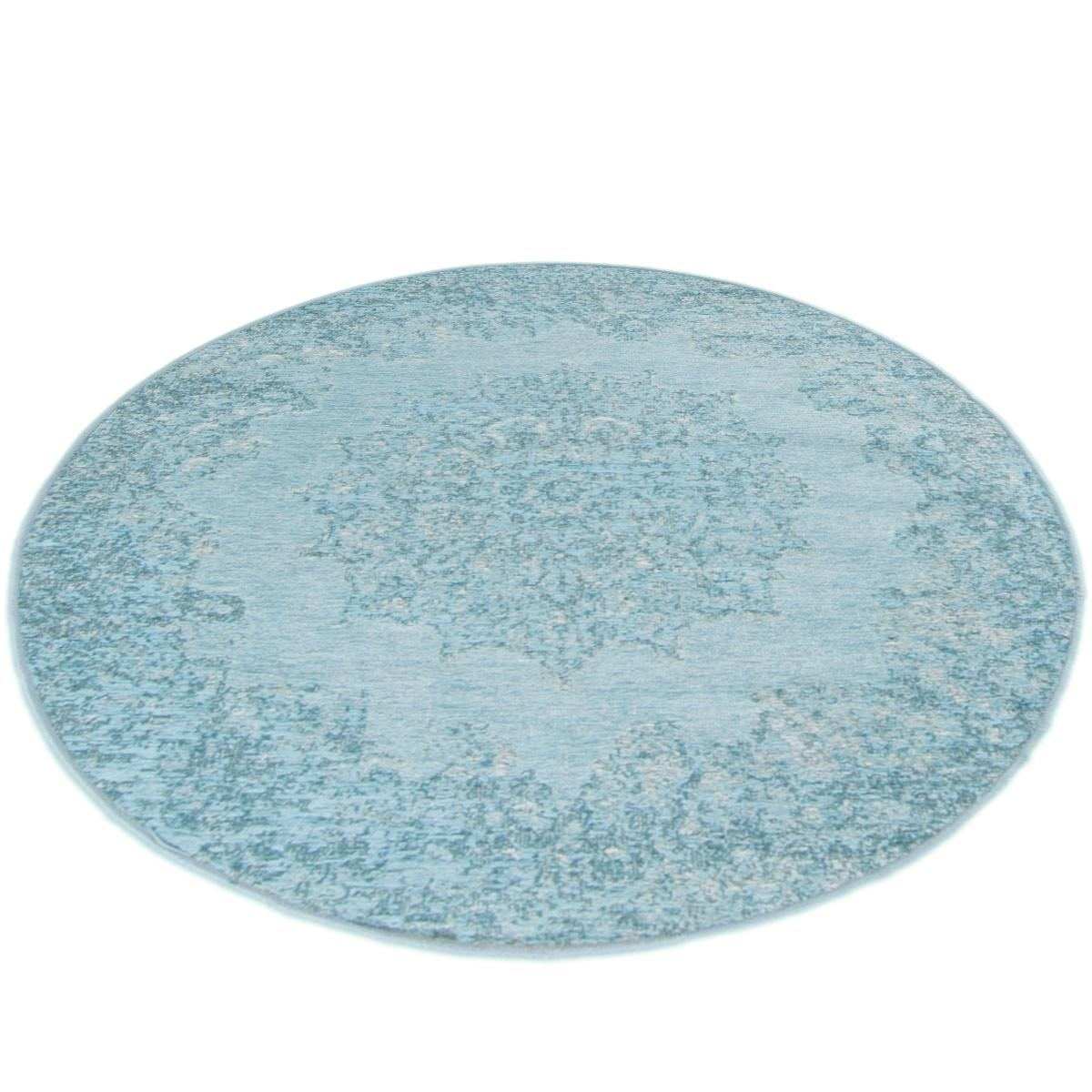 Marseille Rug 35 Light Blue Round 2