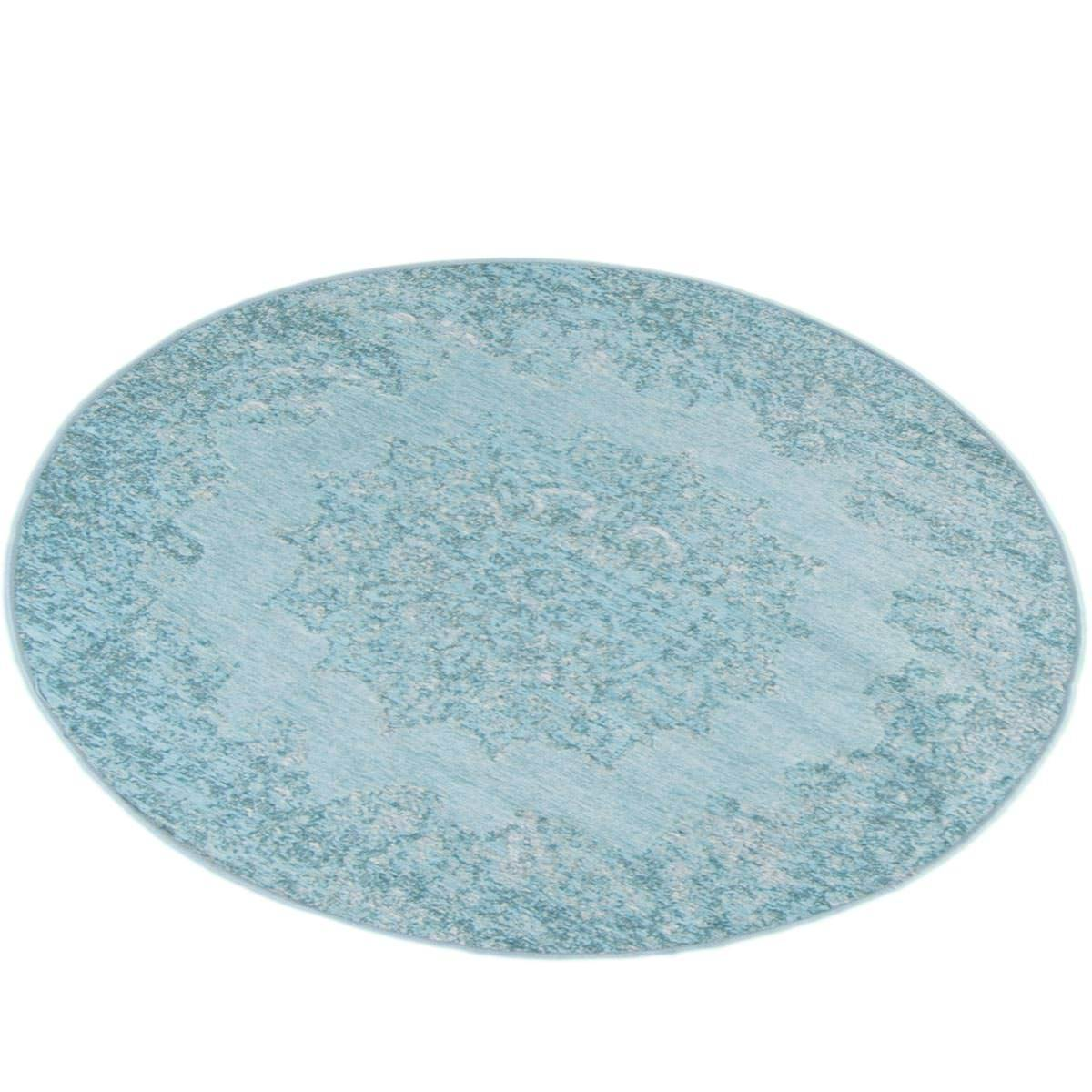 Marseille Rug 35 Light Blue Round 3