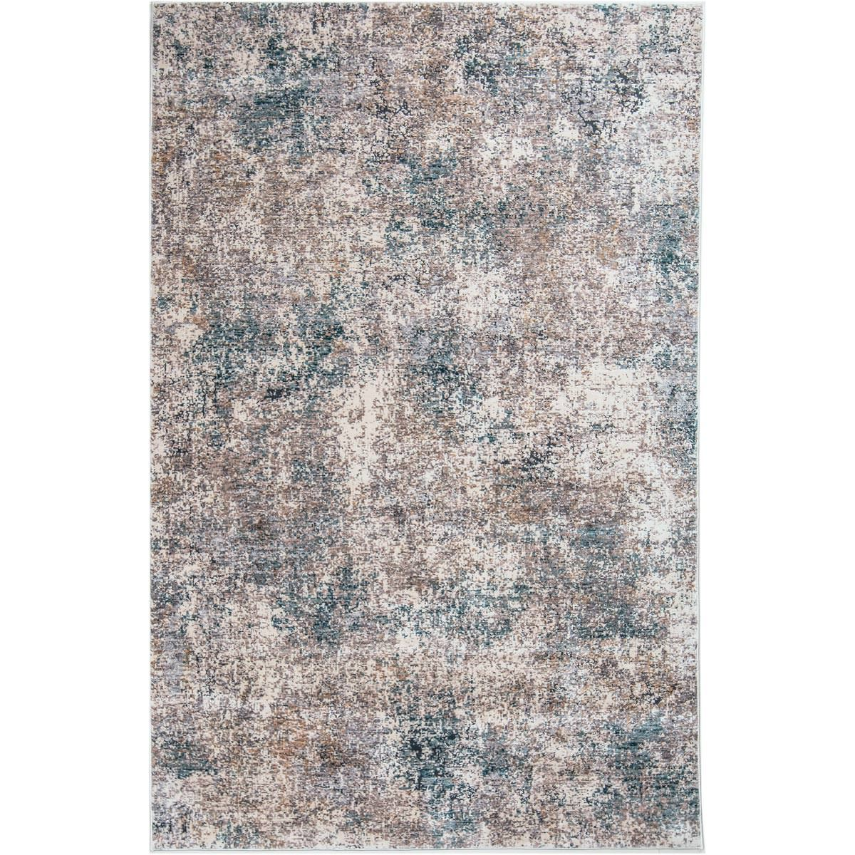 Miami Rug 01 Yellow/Blue/Grey 1