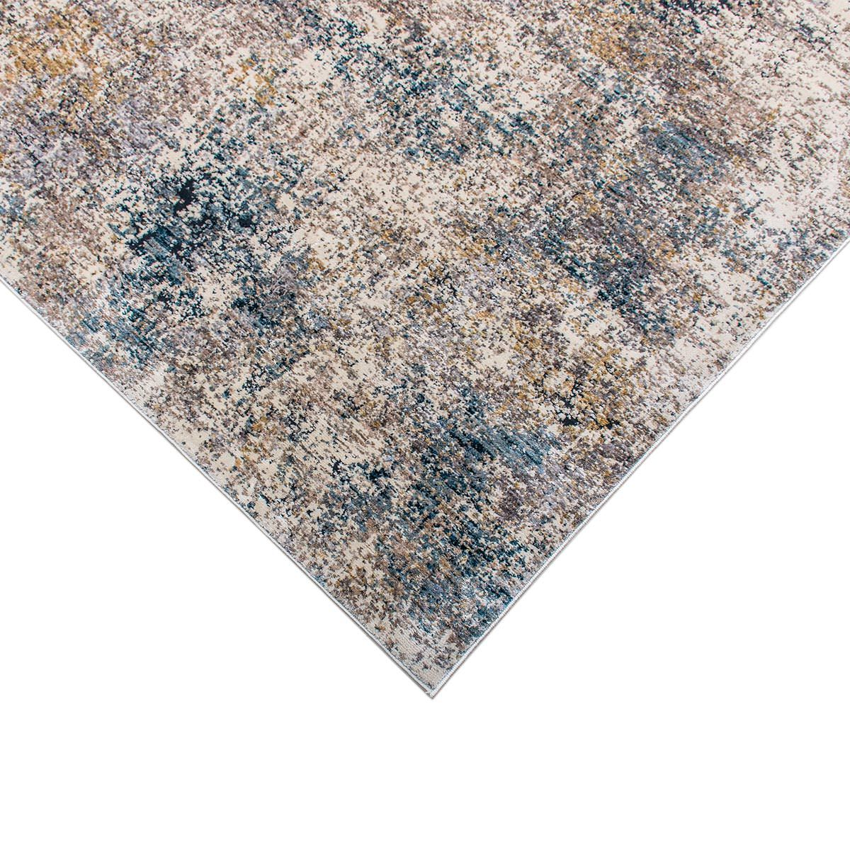 Miami Rug 01 Yellow/Blue/Grey 3