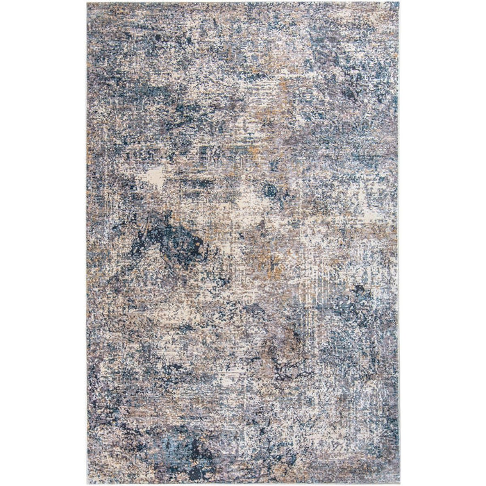 Miami Rug 02 Yellow/Blue/Grey