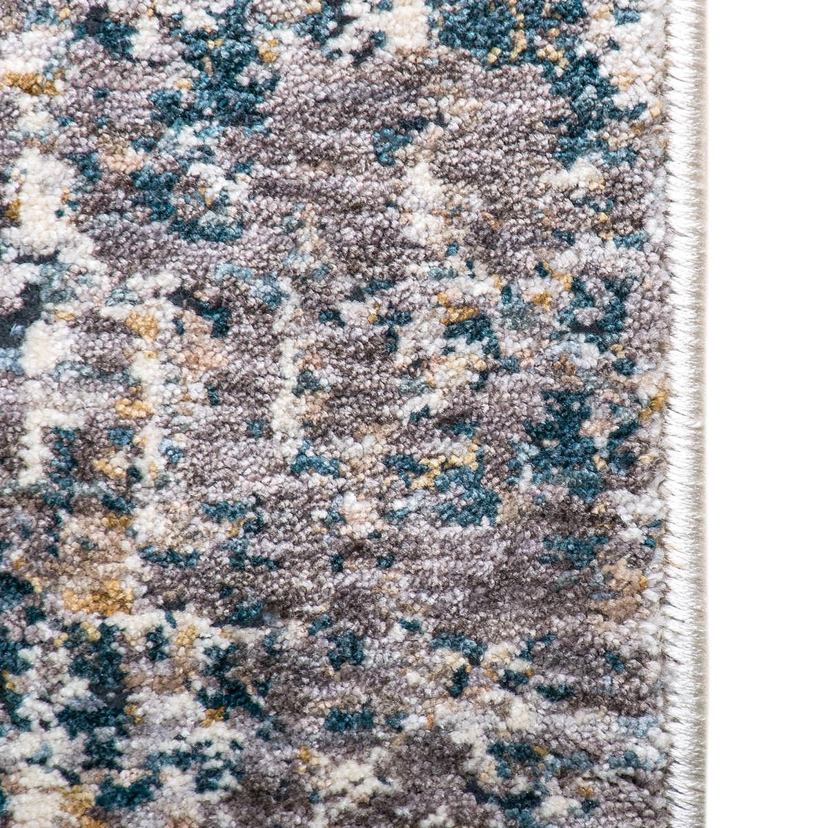 Miami Rug 02 Yellow/Blue/Grey 5