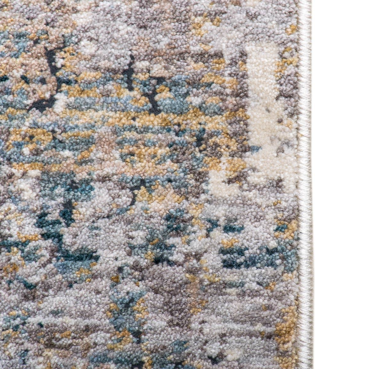 Miami Rug 03 Yellow/Blue/Grey 5