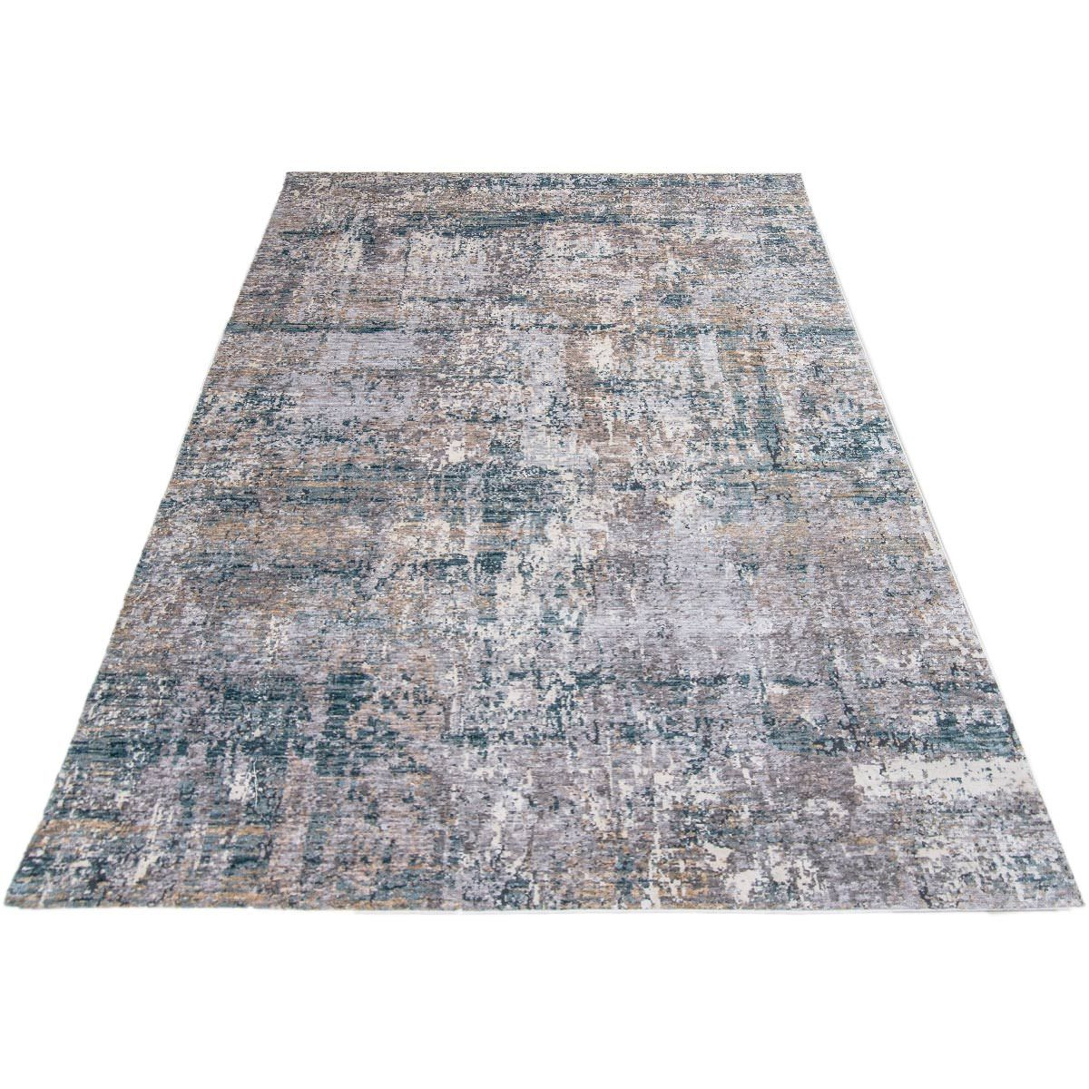 Miami Rug 03 Yellow/Blue/Grey 6