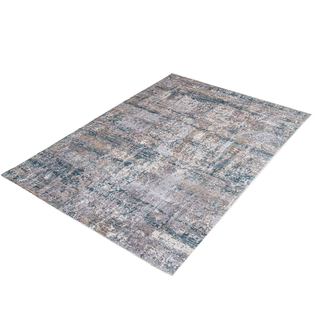 Miami Rug 03 Yellow/Blue/Grey 7