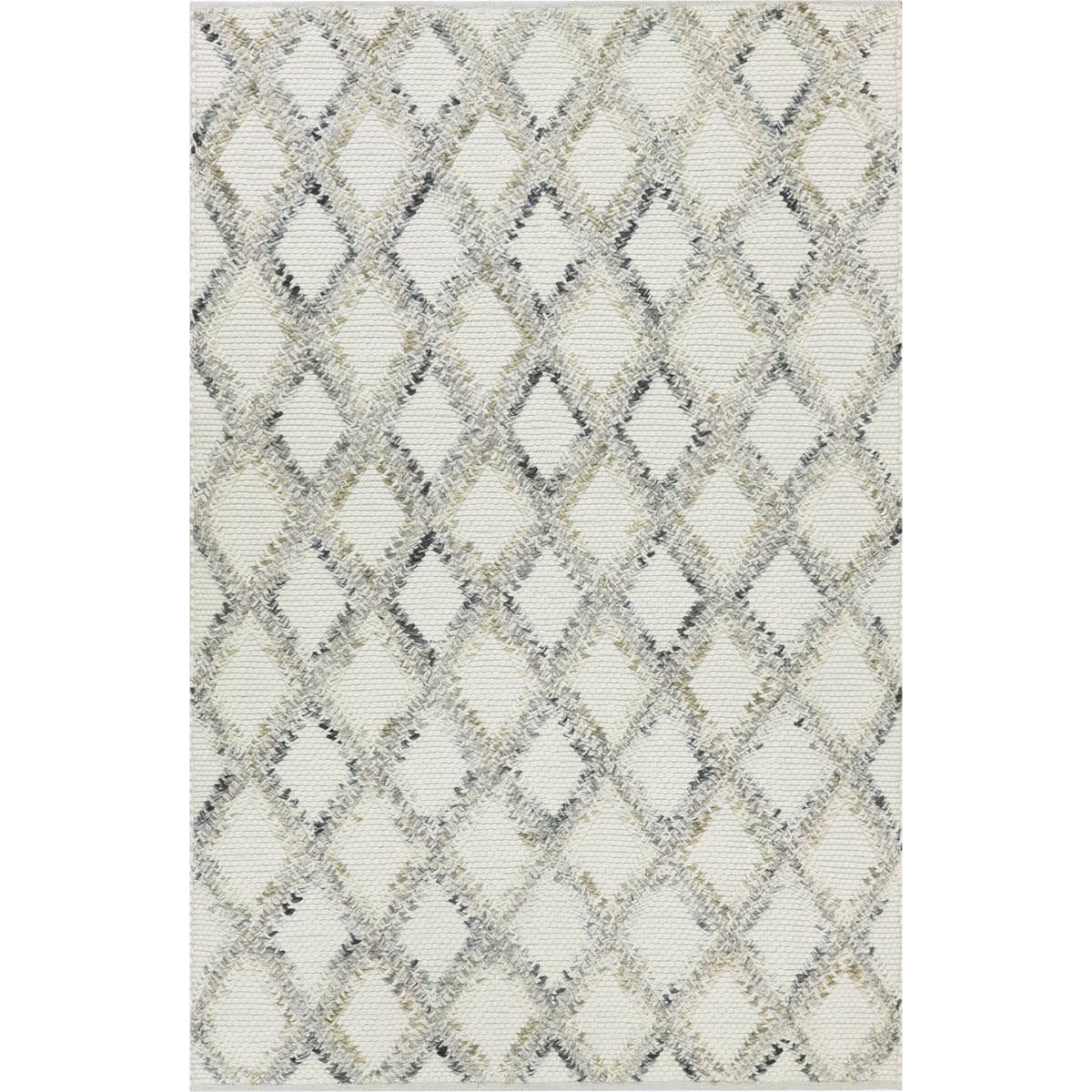 Moroccan Rope Rug 01 White 1