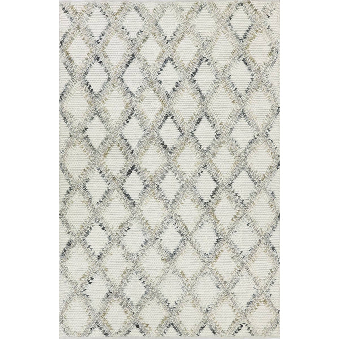 Moroccan Rope Rug 01 White