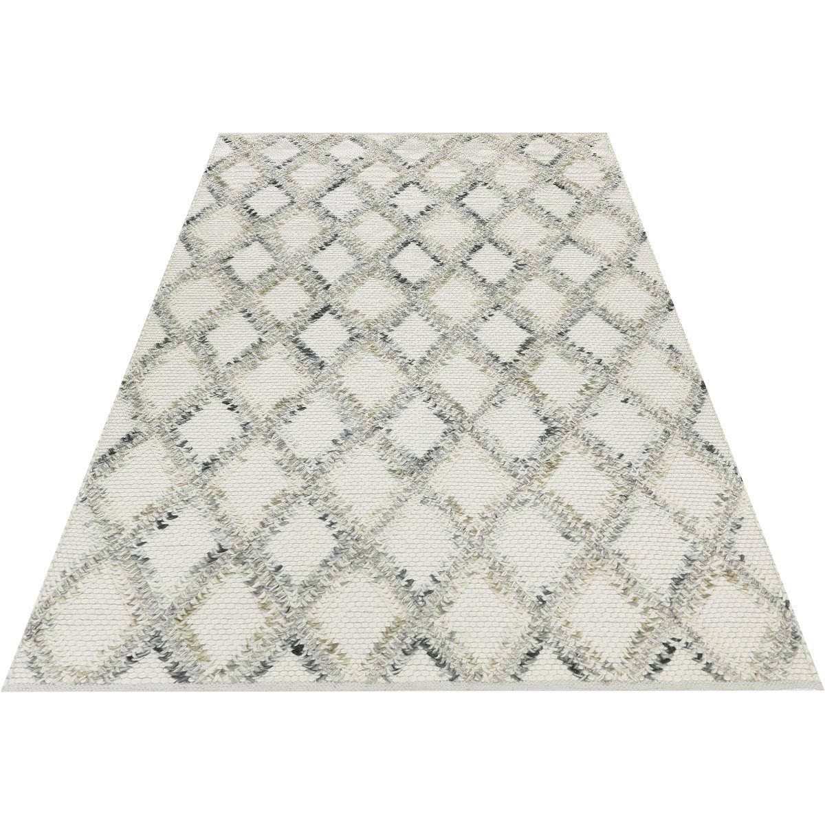 Moroccan Rope Rug 01 White 2
