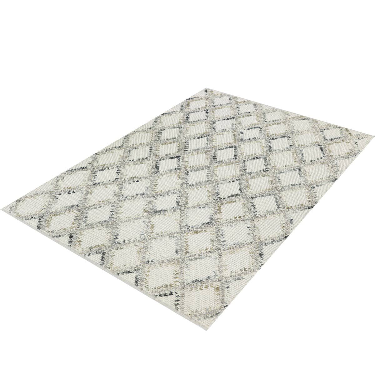 Moroccan Rope Rug 01 White 3