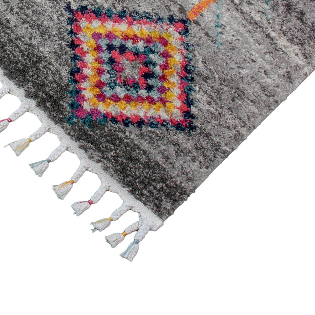 Mykonos Rug 01 Grey Runner 3