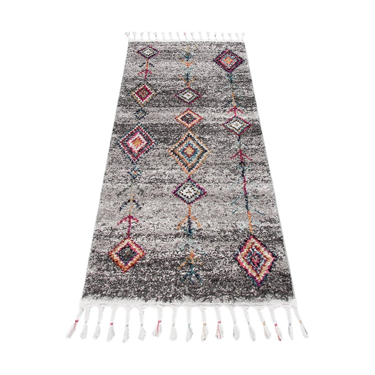 Mykonos Rug 01 Grey Runner 6