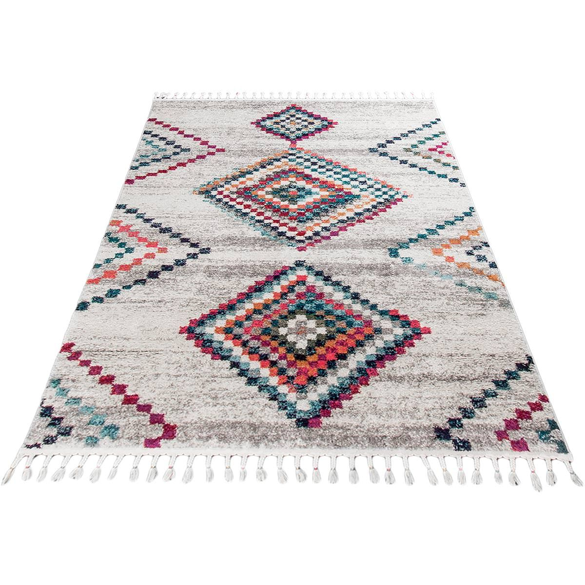 Mykonos Rug 02 Cream/Grey 6