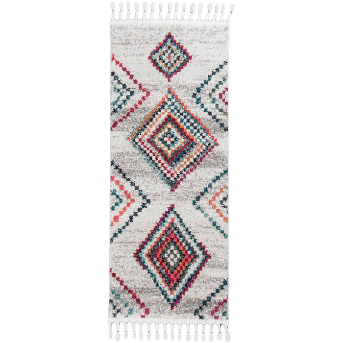 Mykonos Rug 02 Cream/Grey Runner