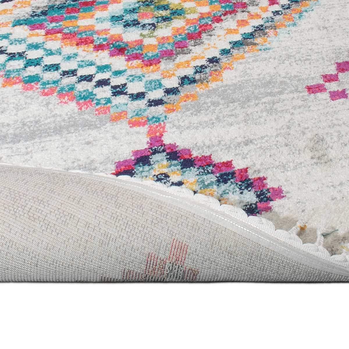 Mykonos Rug 02 Cream/Grey Runner 2
