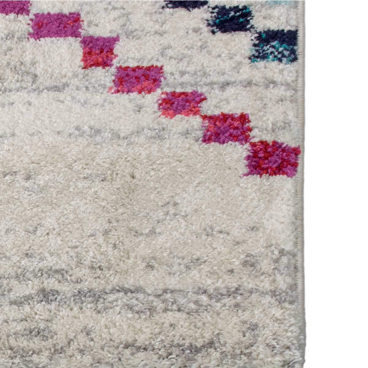 Mykonos Rug 02 Cream/Grey Runner 5