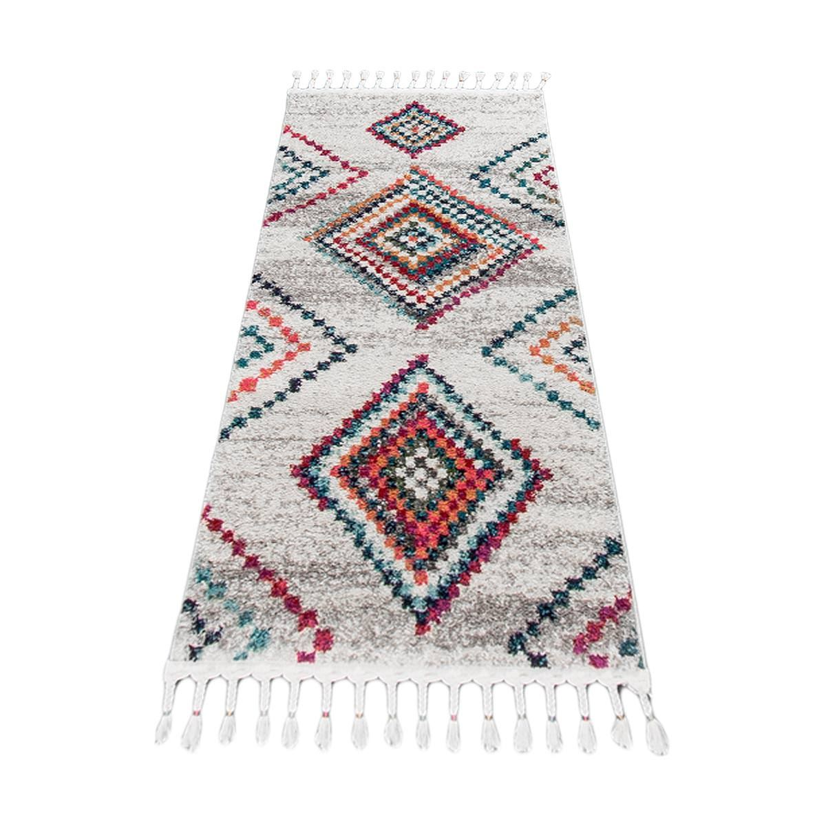 Mykonos Rug 02 Cream/Grey Runner 6