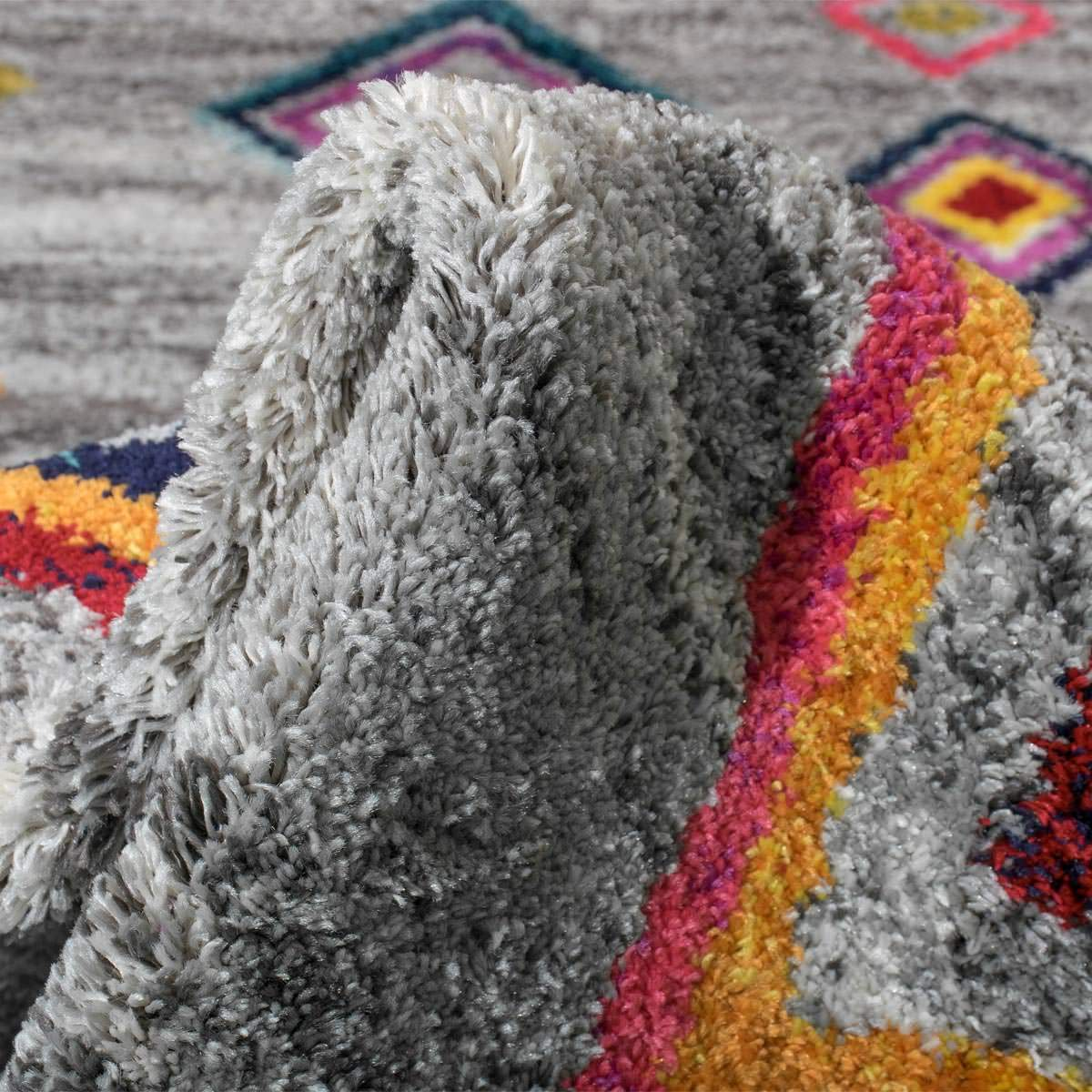 Mykonos Rug 03 Grey Runner 4