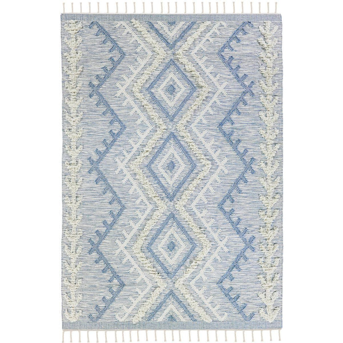 Tangier Rug 05 light blue