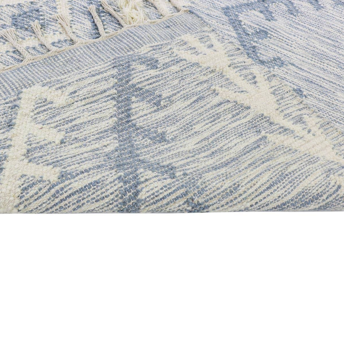 Tangier Rug 05 light blue 4