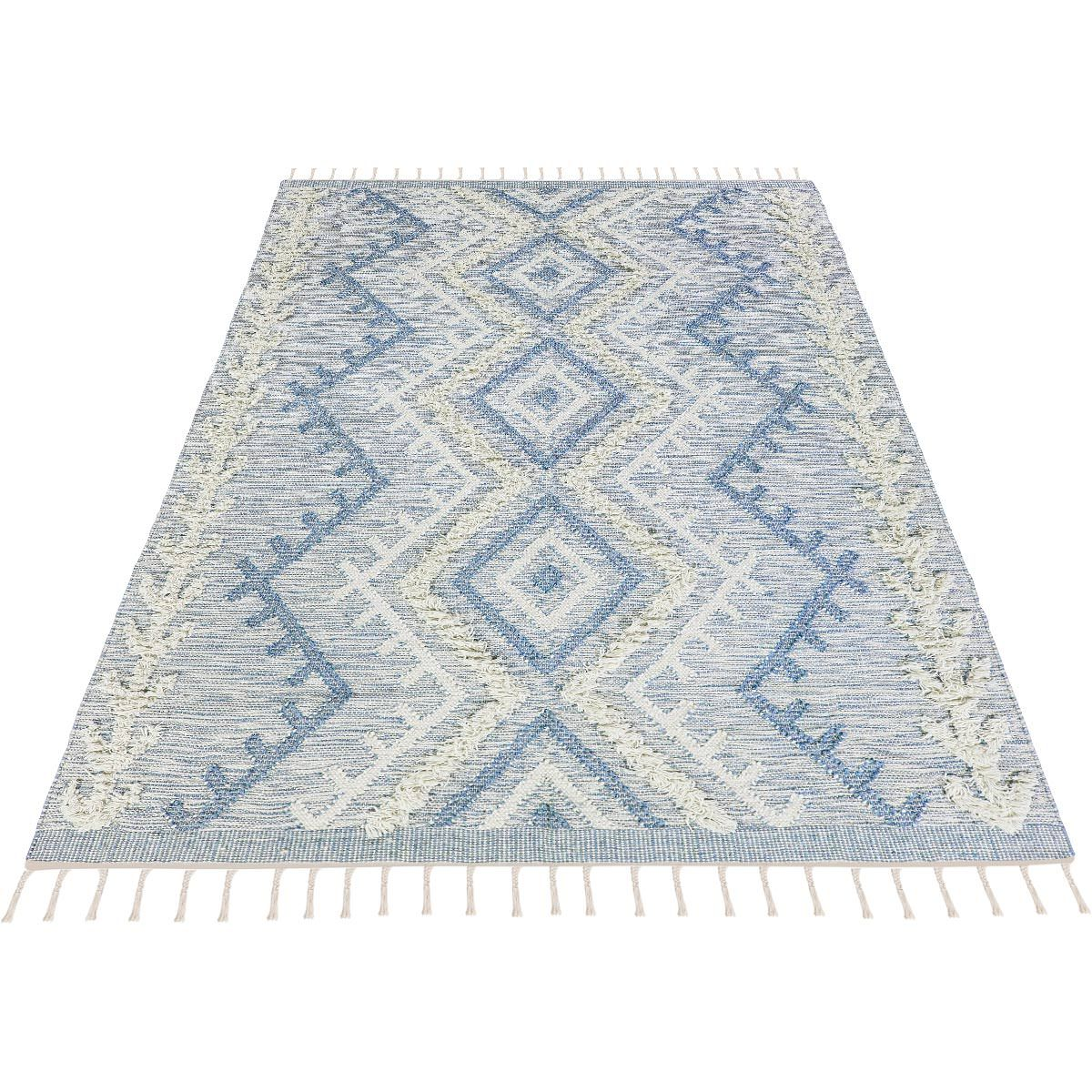 Tangier Rug 05 light blue 3