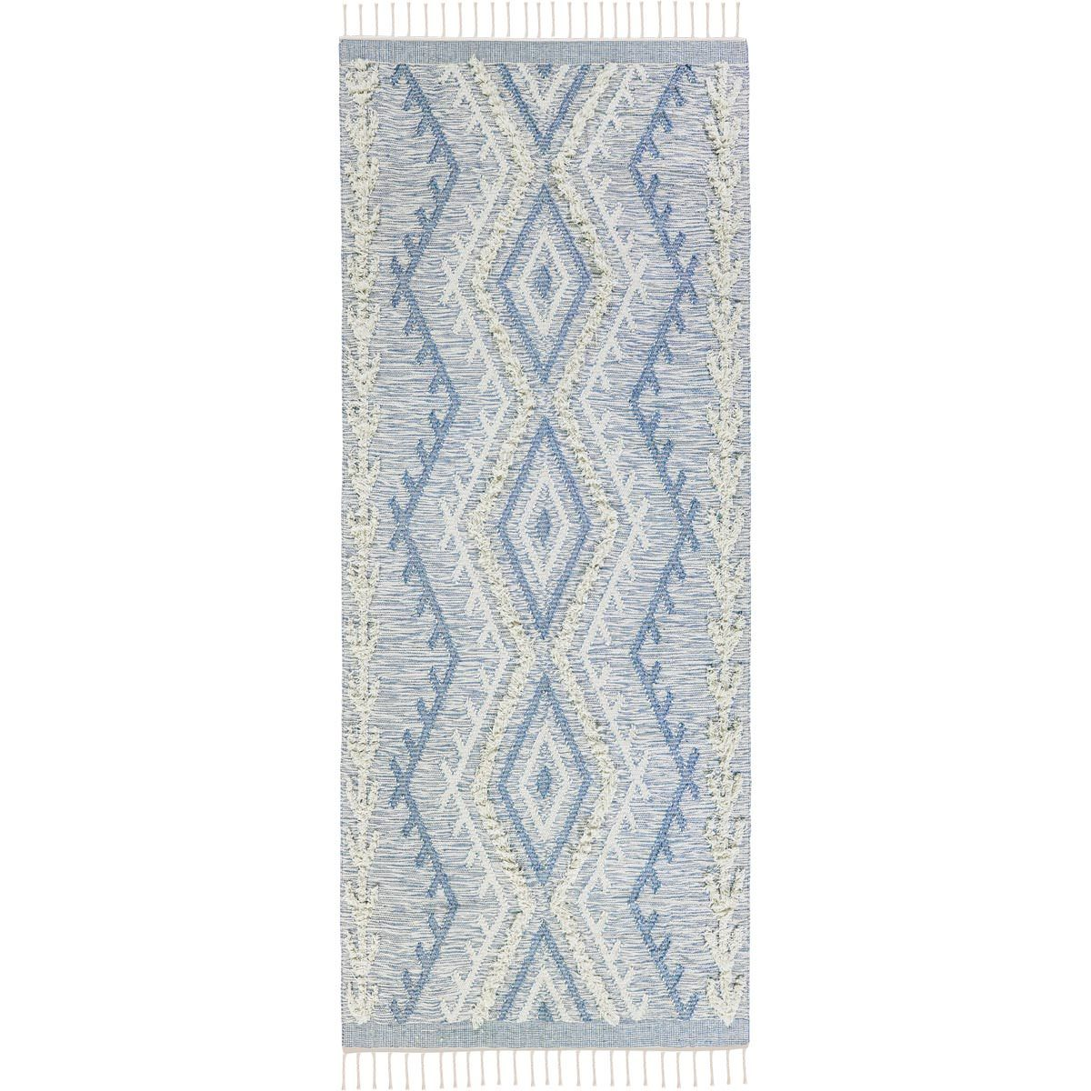 Tangier Rug 05 light blue Runner 1