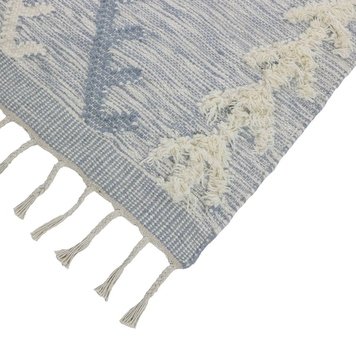 Tangier Rug 05 light blue Runner 4