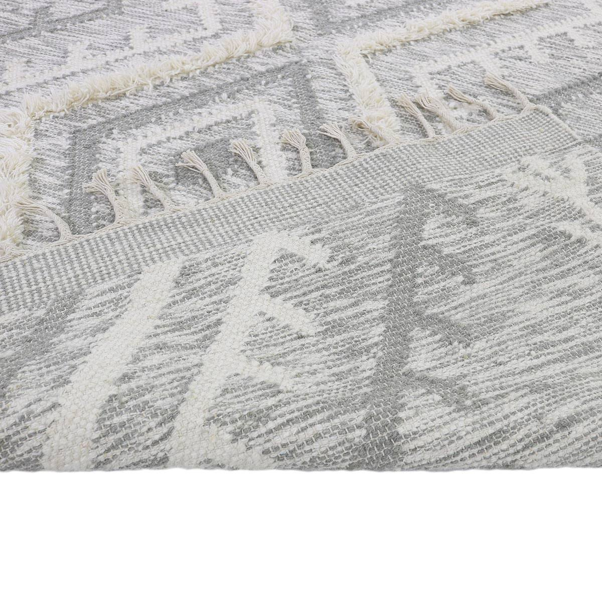 Tangier Rug 05 light grey Runner 3