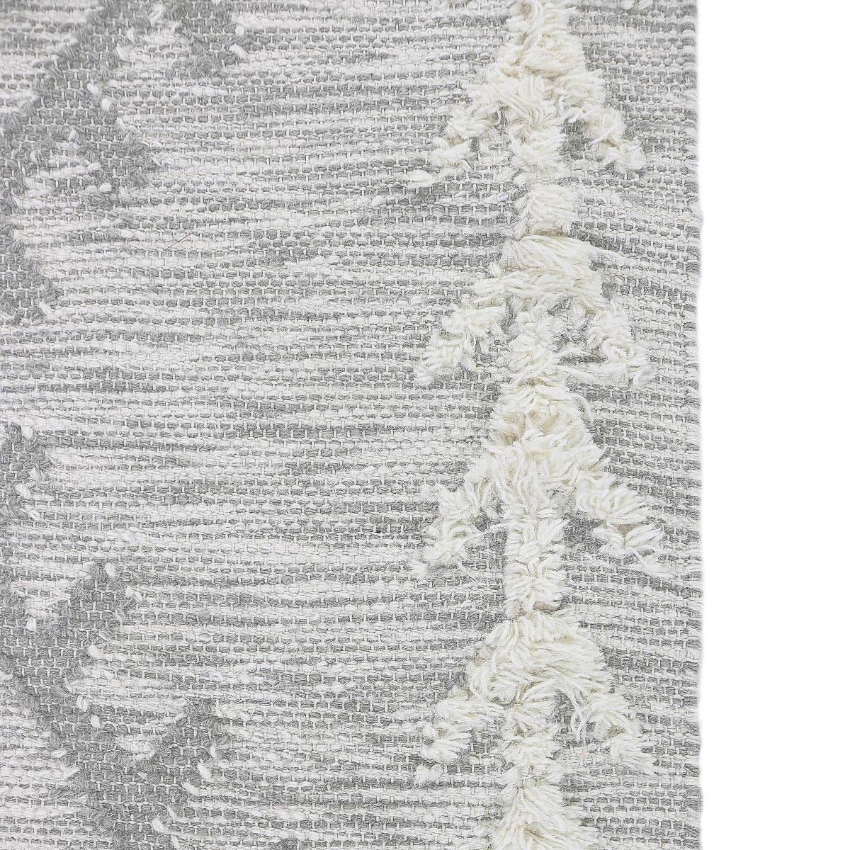 Tangier Rug 05 light grey Runner 6