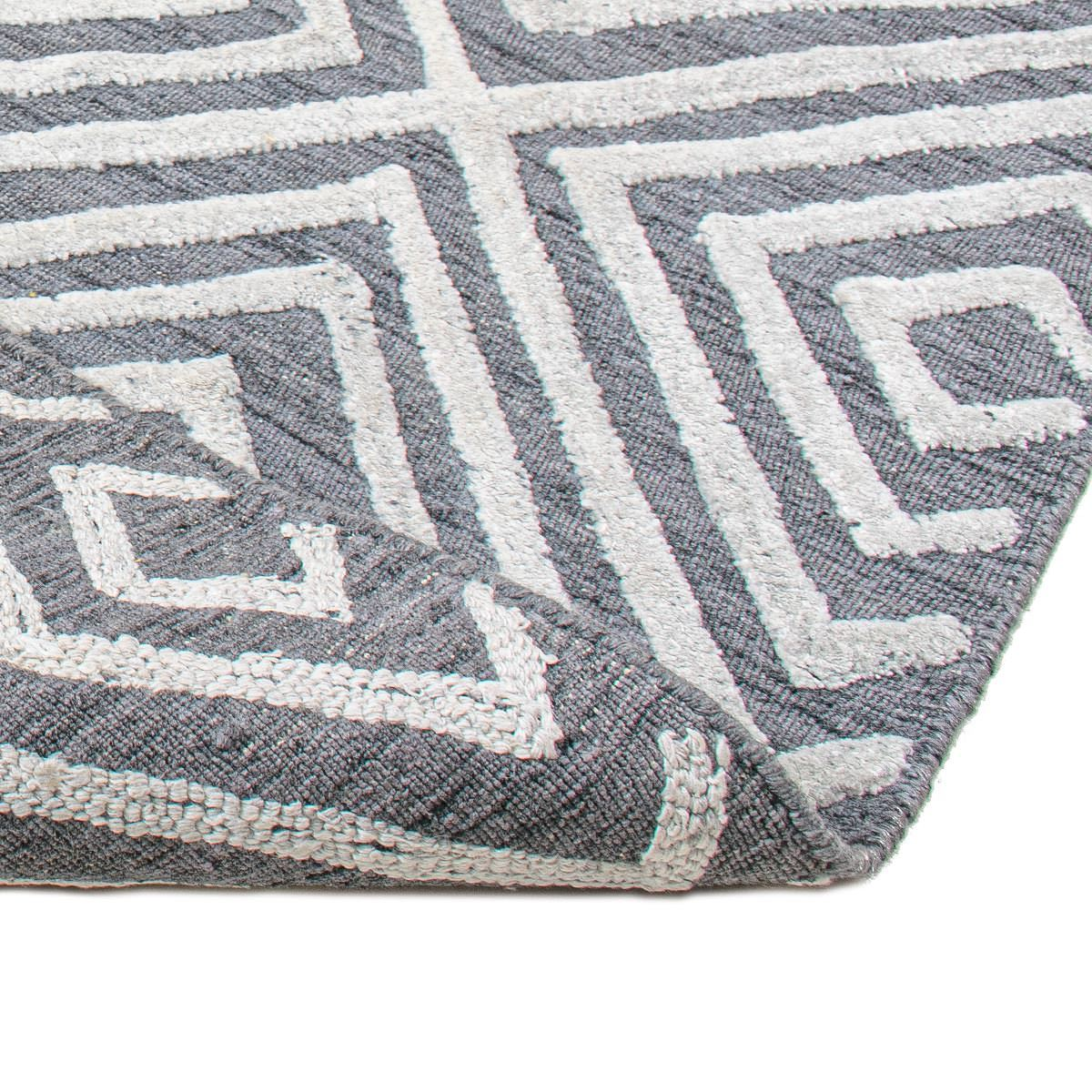 Zara Rug 01 Grey/White 2