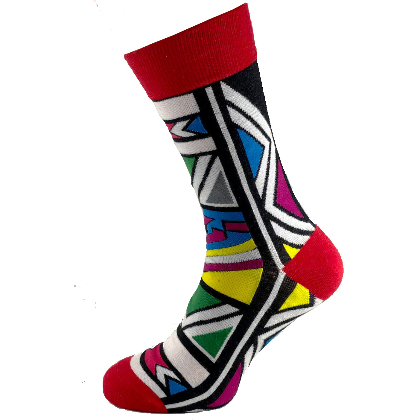 Royal Ndebele - African Print  Unisex Cultural Fashion Socks