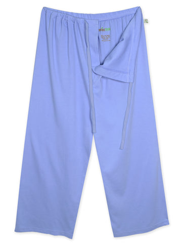 Unisex Hospital Patient Drawstring Pants (X-Large, Dark Blue)
