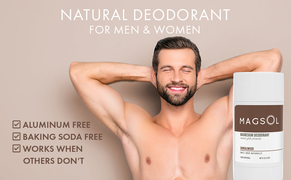 Natural deodorant made with natural ingredients